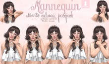 Mannequin. Catwaii Pose Pack