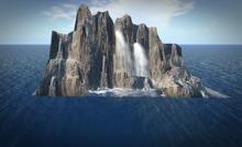 Offsim Wasserfall/TexturHUD *Box*