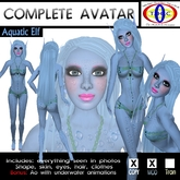 Aquatic Elf full female furry avatar Avatar - Resell Box -