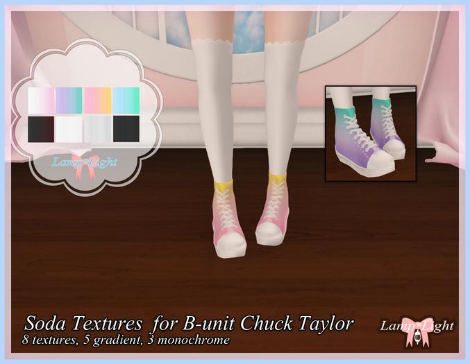Lamp*Light - Soda Textures  for B-unit Chuck Taylor