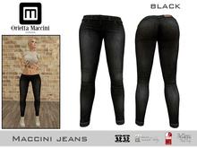 :: Maccini :: Jeans - black