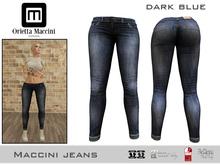:: Maccini :: Jeans - dark blue