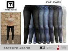 :: Maccini :: Jeans - fat pack