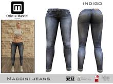 :: Maccini :: Jeans - indigo