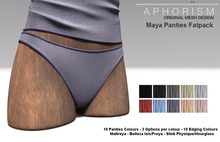 !APHORISM! Maya Panties - Fatpack
