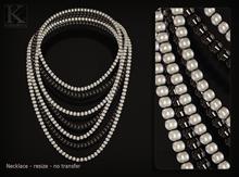 (Kunglers) Yvete necklace - Ivory