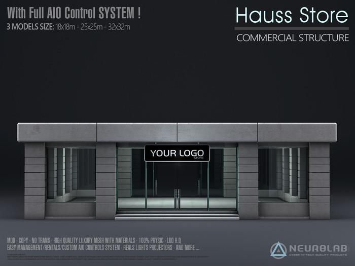 HAUSS STORE V.2.5 (W/ Full AIO System) [Neurolab Inc.]