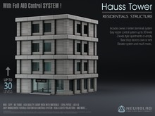 HAUSS TOWERS PACKS V.2.6 (Store + Apartments+AIO System) (MESH+MATERIALS) [Neurolab Inc.]
