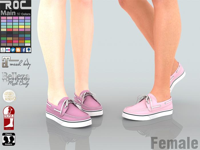 ::ROC:: Canvas Sneaker! Docksides (FEMALE)