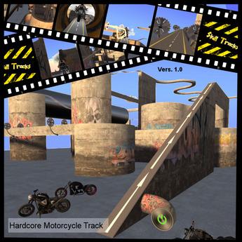 (Skill Tracks) Hardcore Motorcycle Track