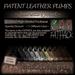 ~JJ~ Patent Leather Pumps FATpack (Natural)