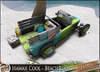 HeadHunter's Island - Beach HotRod (BeachRod) - Hawaii Cool - 135 animations - drink givers/surfboards/low prim - MESH