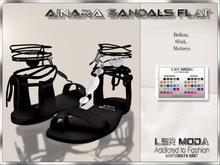 LsR Shoes - Ainara Sandals Flat