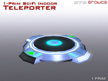 Anna Erotica - ONE Prim SciFi Indoor Teleporter (box)