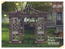 French Country Pergola ♥ CHEZ MOI