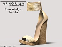 !APHORISM! Rora Wedge Shoe - Tortilla