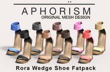 !APHORISM! Rora Wedge Shoe - Fatpack