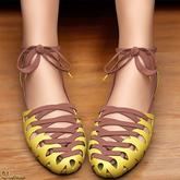 Mutresse - Vaska Flat Sandals - 20 Colors for Slink/Maitreya/Belleza