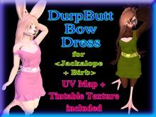 +Nelaware+ DurpButt Bun/Birb Bow Dress