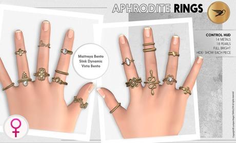^^Swallow^^ Aphrodite Bento Rings 0.3 (WEAR)