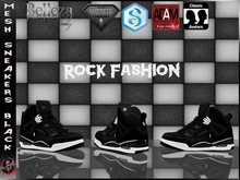 [Mesh] Sneakers , Signature , Belleza , Aesthetic  , Adam  -  Rocks