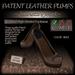 ~JJ~ Patent Leather Pumps (beige)