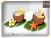 Maldivas coconut drink