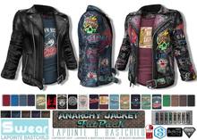 L&B - Mens - Leather Jacket - Anarchy Fatpack - Signature Gianni & Geralt, Belleza Jake, Slink, Aesthetic