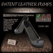~JJ~ Patent Leather Pumps (grey)