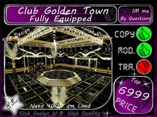 ^^* New Top Gold Club *^^ Fully Equipped **