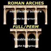 Roman arches - textures