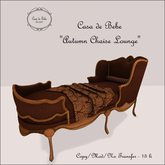 {CdB} Autumn Chaise Lounge
