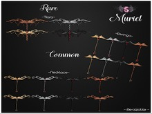 .::Supernatural::. Muriel [Necklace- Red/Black]