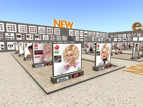 NEW eDeLsToRe men & women mesh hair  vendors 50% commision affiliates franchises hair 1 prim vendor