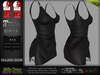 Milly Black Female Dress - Maitreya Lara, Slink Physique Hourglass, Belleza - DreamLife - FashionNatic
