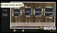 MadPea Art Style Gacha Machine