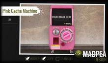 MadPea Pink Gacha Machine