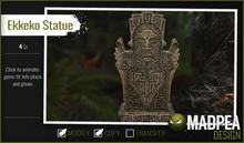 MadPea Inca Statue - Ekkeko