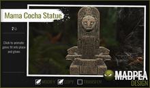 MadPea Inca Statue - Mama Cocha