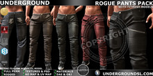 [UG MESH] ROGUE PANTS PACK+ FITTED (UPDATED FOR BELLEZA JAKE AND SIGNATURE)