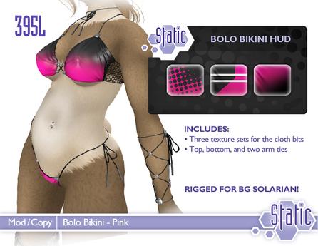 ::Static:: Bolo Bikini - Pinks