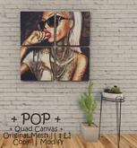 || When I'm Bored || Decor || 100% Mesh || Quad Canvas ||  POP
