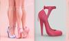 [BREATHE]-Nozomi Heels-Pink Yarrow-(for Slink High Feet & Maitreya Lara & Belleza)