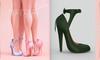 [BREATHE]-Nozomi Heels-Green-(for Slink High Feet & Maitreya Lara & Belleza)