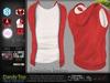 Dandy Red Male Mens Top with Jacket - Mesh - TMP, Adam, Slink, Signature, Belleza Jake - FashionNatic