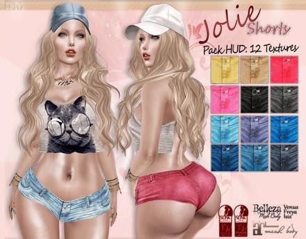 DM:: Jolie Shorts Jeans Maitreya-Slink-Belleza