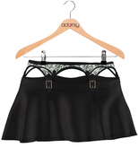 adorsy - Evelyn Skirt Black - Maitreya