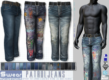 L&B - Mens - Denim Jeans - Patrol