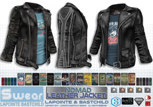 L&B - Mens - Leather Jacket - Nomad