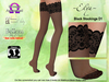 ~Elya~ Black Stockings D1